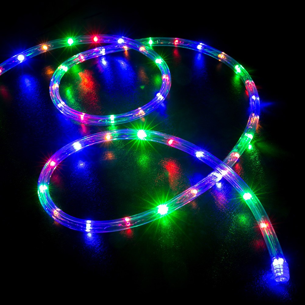 Picture of: Multi Color Outdoor Led Rope Light