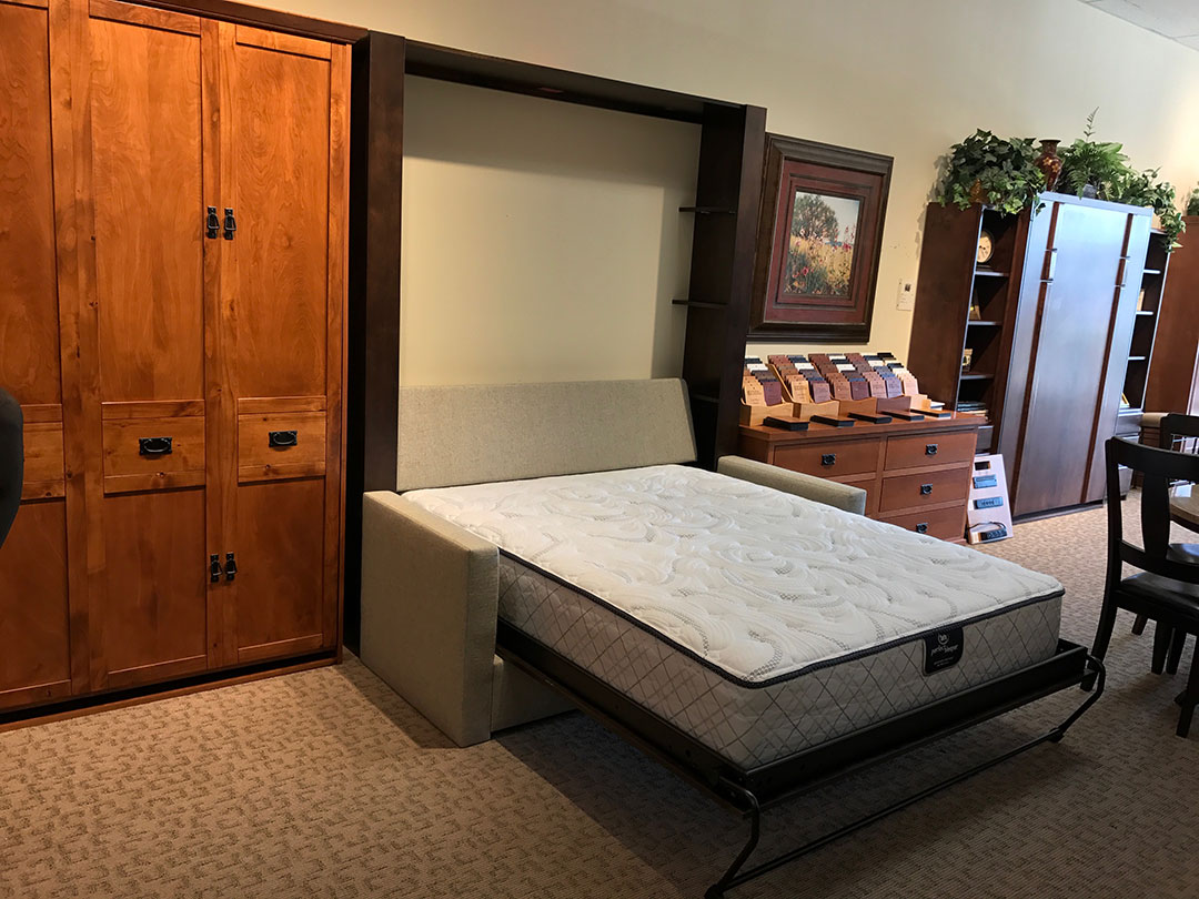 Image of: Murphy Bed With Storage Ideas
