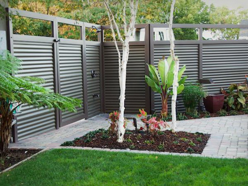 Picture of: New Garden Fence Ideas