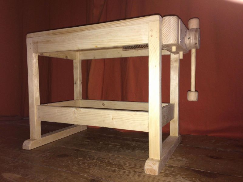 Picture of: New Kids Wooden Tool Bench