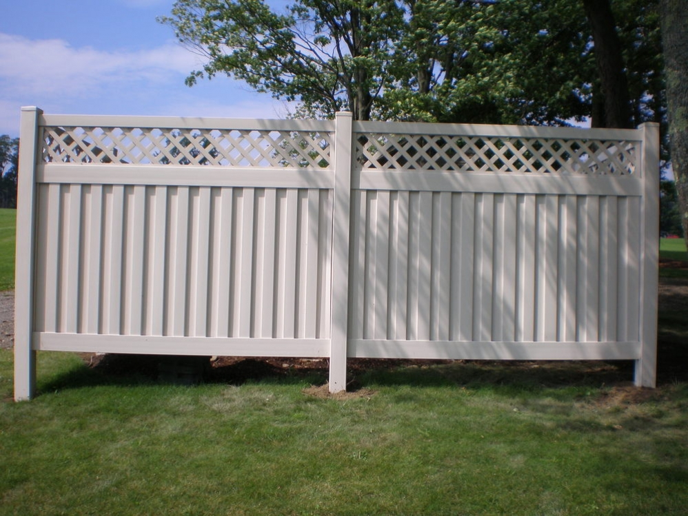 Picture of: New Plastic Fence Panels