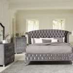 New Silver Bedroom Set