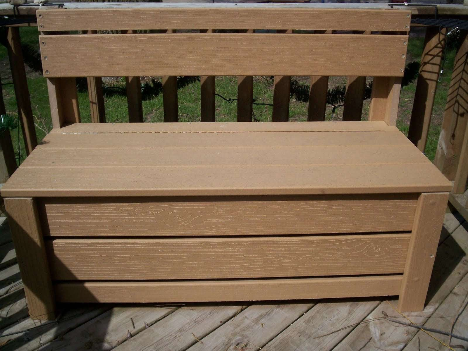 Picture of: New Wooden Bench Design