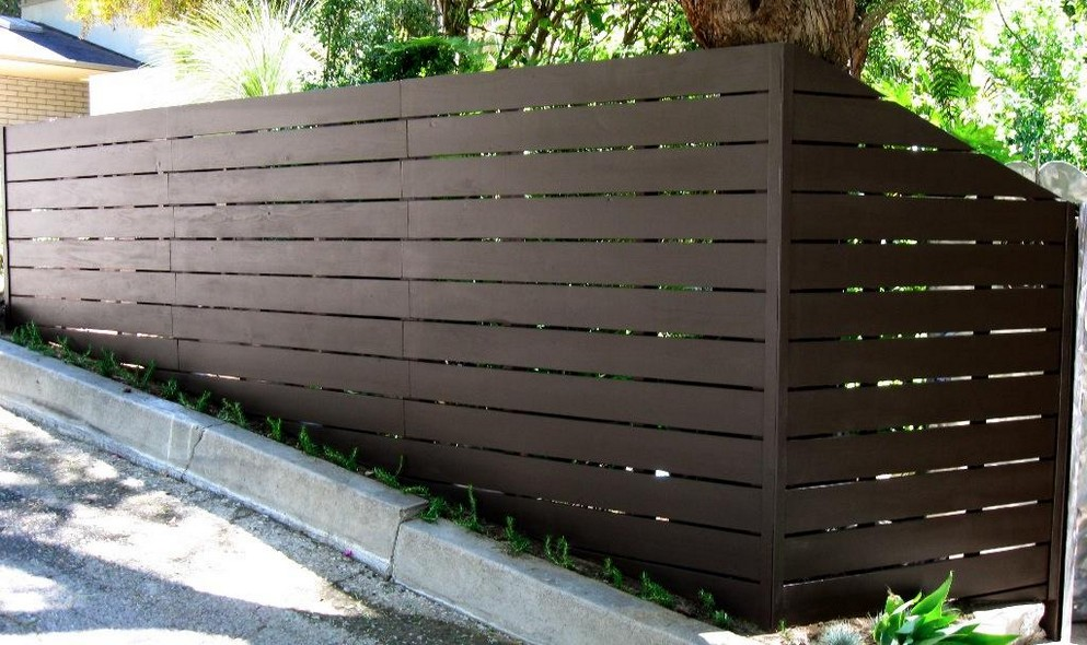 Picture of: Nice Horizontal Fence Panels