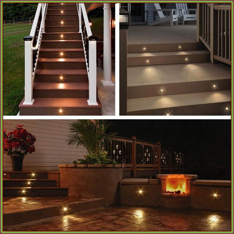 Picture of: Nice Led Outdoor Step Lights