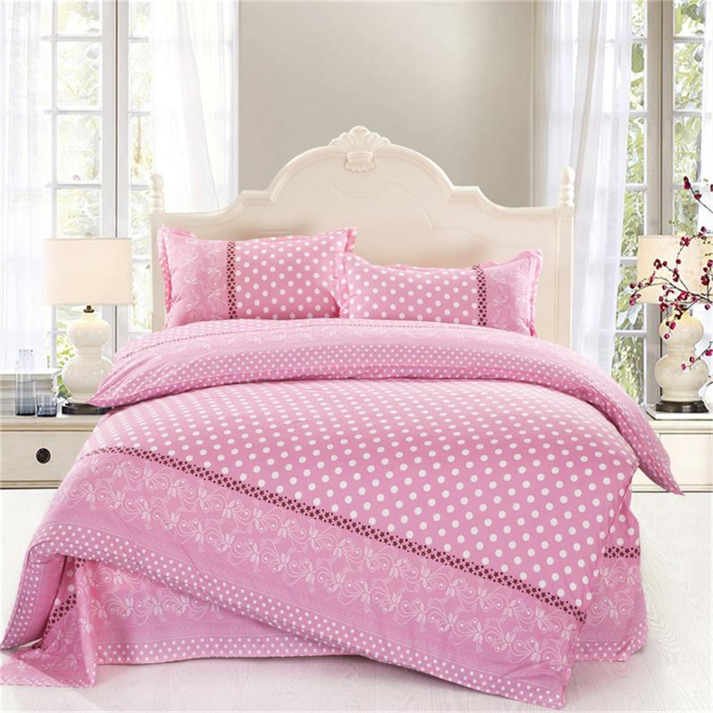 Picture of: Nice Pink Twin Comforter Set