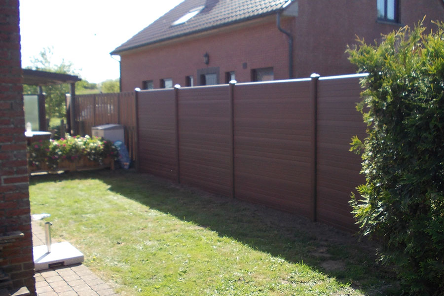 Picture of: Nice Plastic Fence Panels