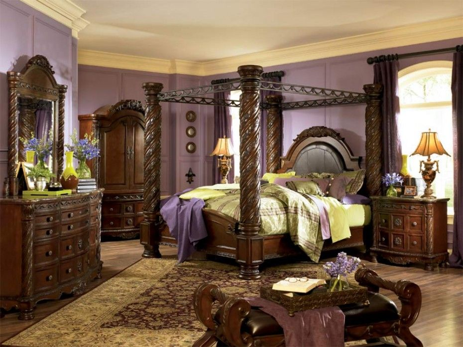 Picture of: North Shore Bedroom Set Canopy