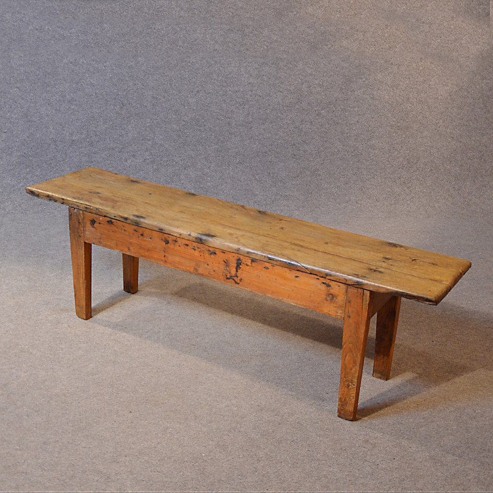 Picture of: Old Antique Wooden Bench