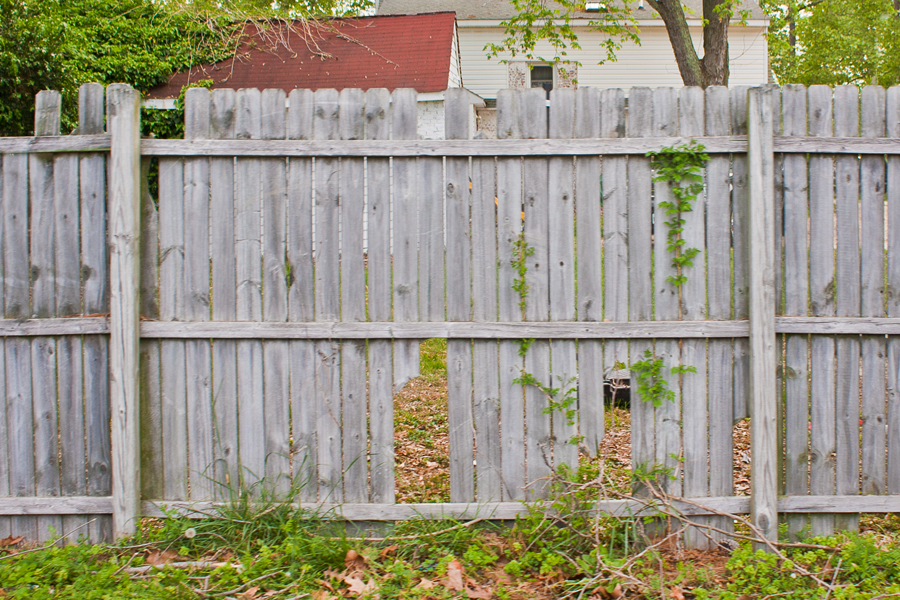 Picture of: Old Wood Fence Repair