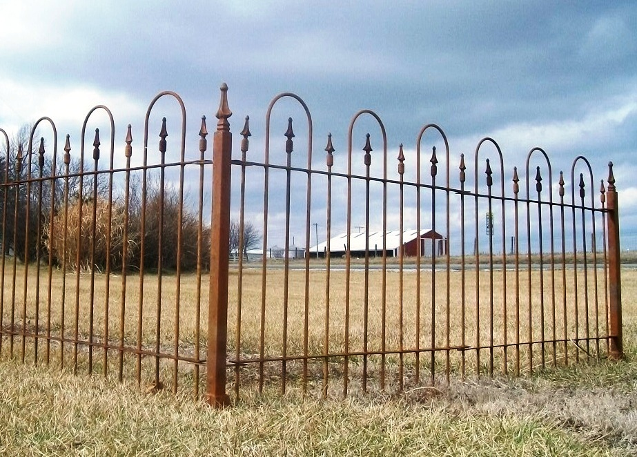 Picture of: Old Wrought Iron Fence Panels