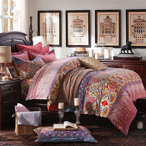 Image of: Original Hippie Bedding Sets
