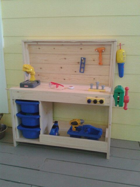 Picture of: Ornament Kids Wooden Bench