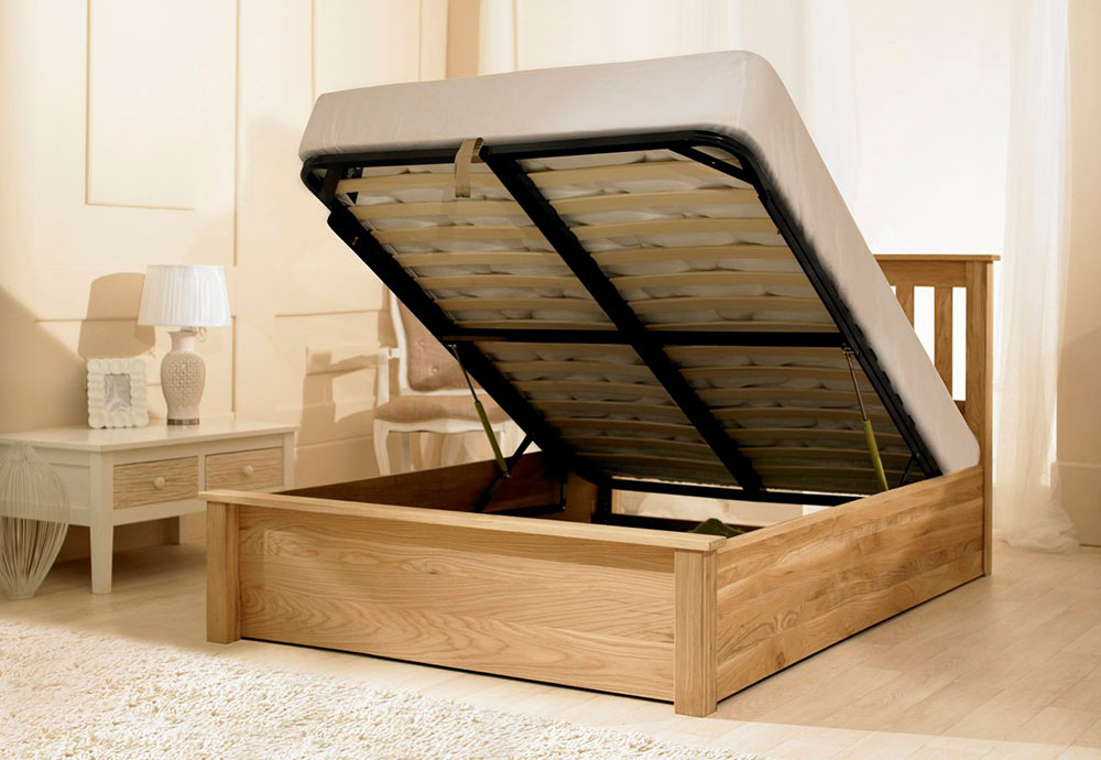 Ottoman Storage Bed Assembly