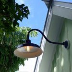 Outdoor Barn Lights Gooseneck Black