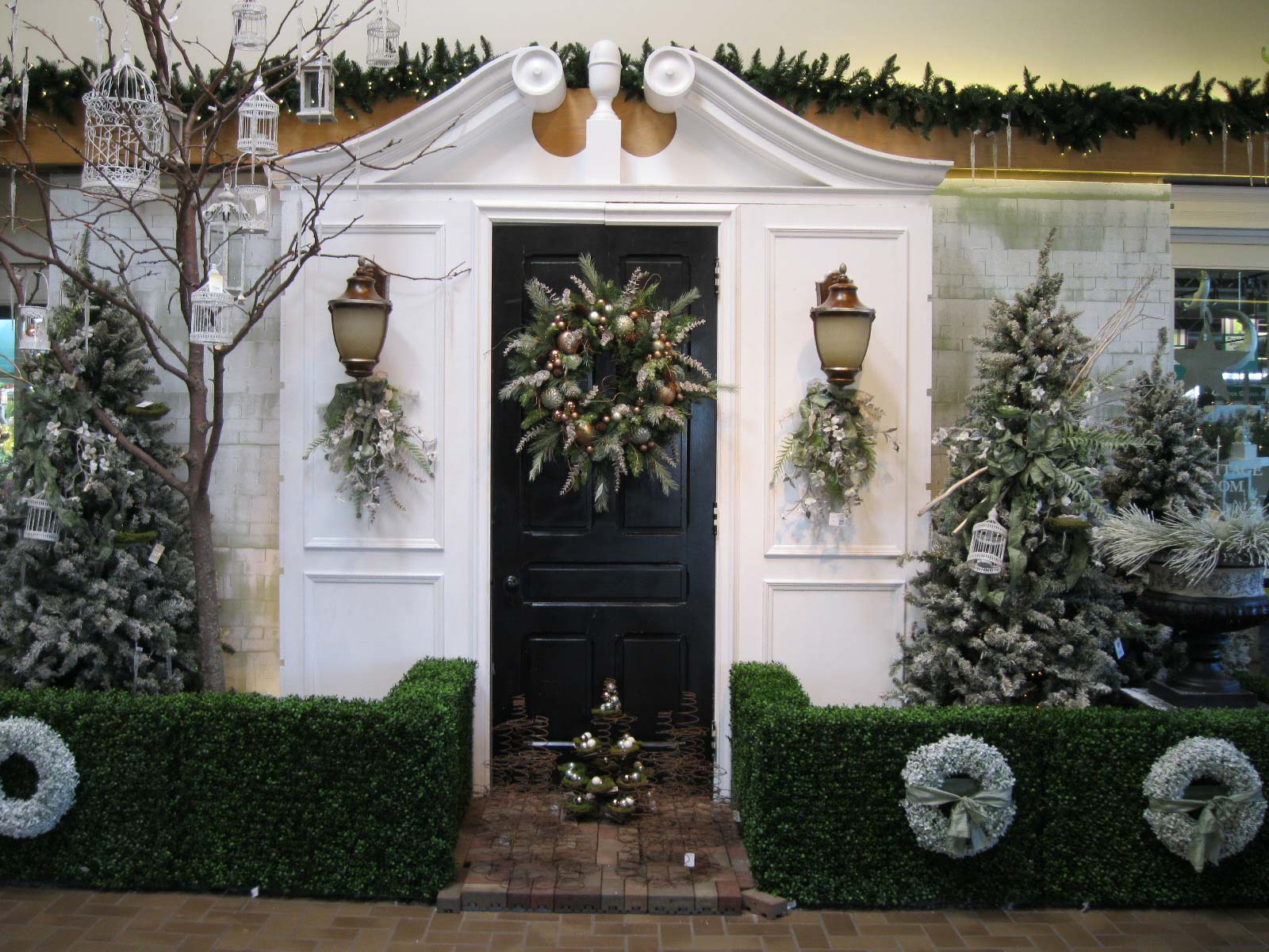 Outdoor Christmas Lamp Post Home