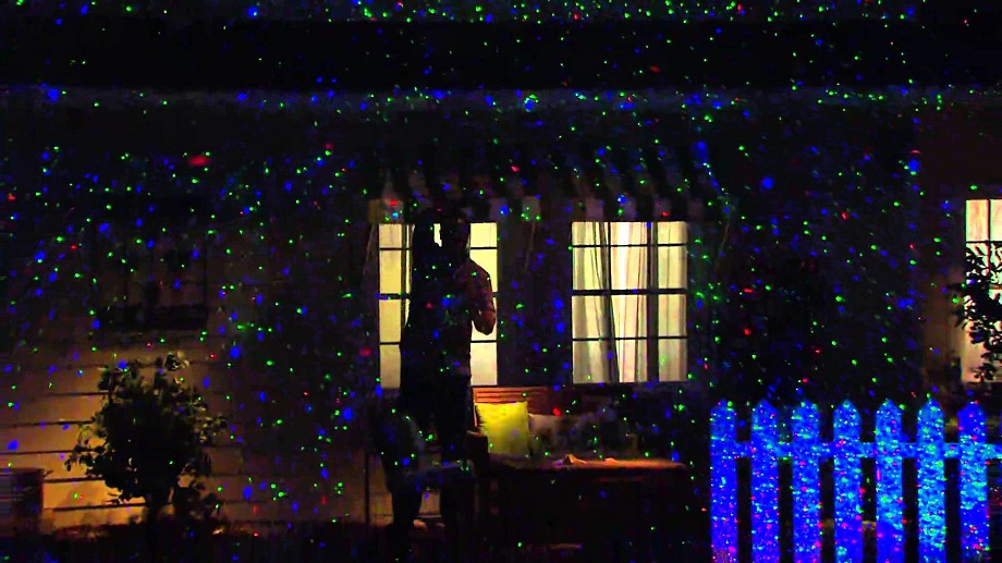 Picture of: Outdoor Christmas Laser Lights Decoration