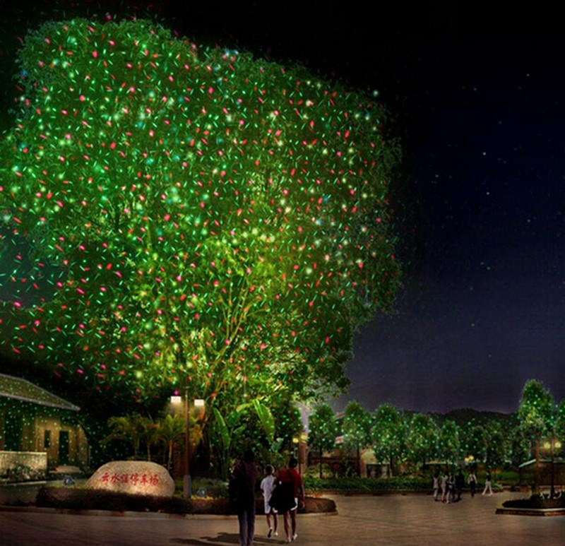 Picture of: Outdoor Christmas Laser Lights Design
