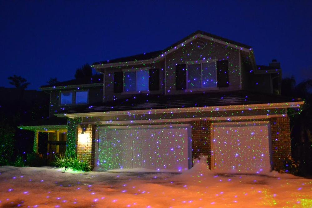 Picture of: Outdoor Christmas Laser Lights Home