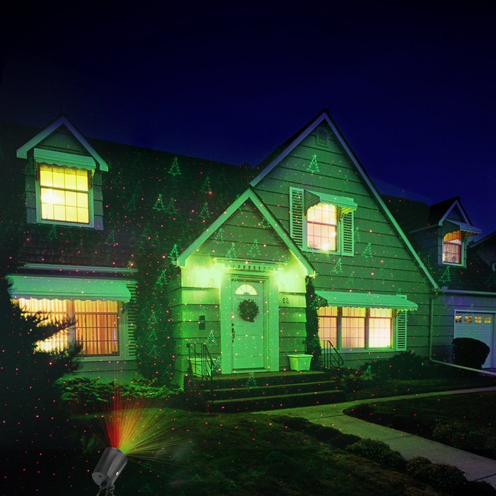 Picture of: Outdoor Christmas Laser Lights Yard