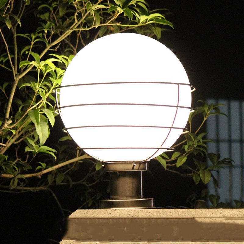 Outdoor Column Lights Ball