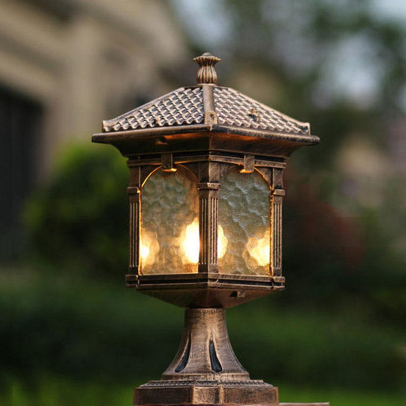 Picture of: Outdoor Column Lights Cheap