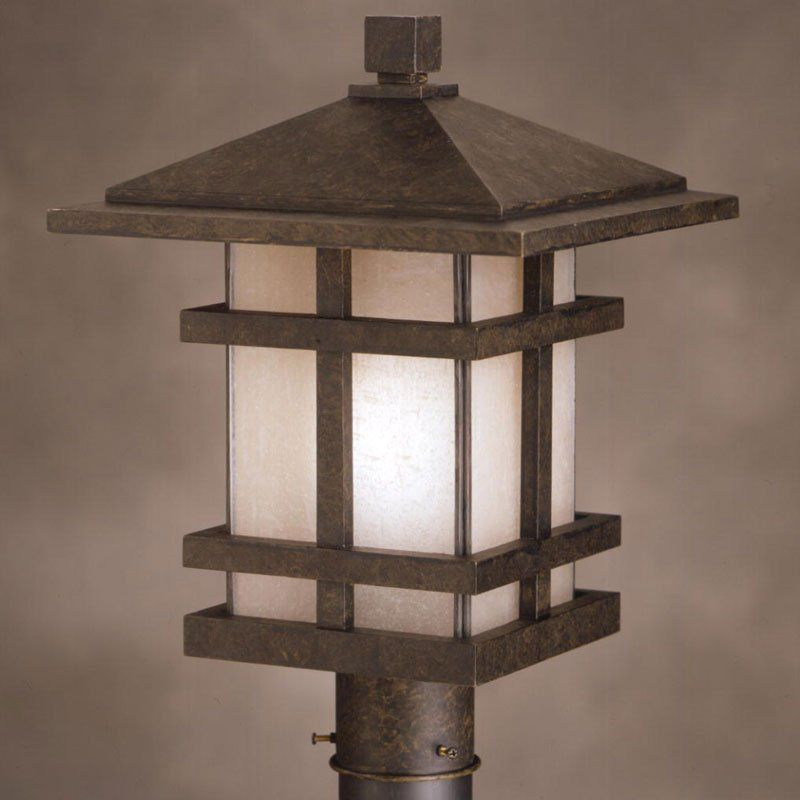 Picture of: Outdoor Column Lights Color