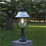 Outdoor Column Lights Glass
