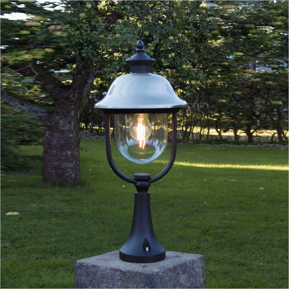 Picture of: Outdoor Column Lights Glass