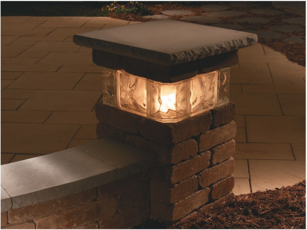 Picture of: Outdoor Column Lights Kits
