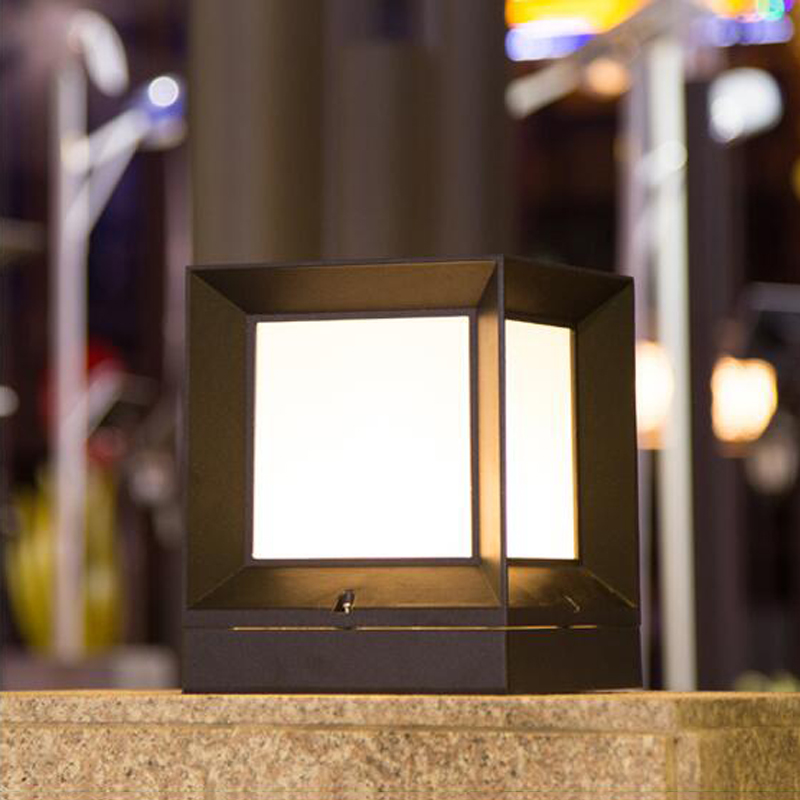 Picture of: Outdoor Column Lights Led