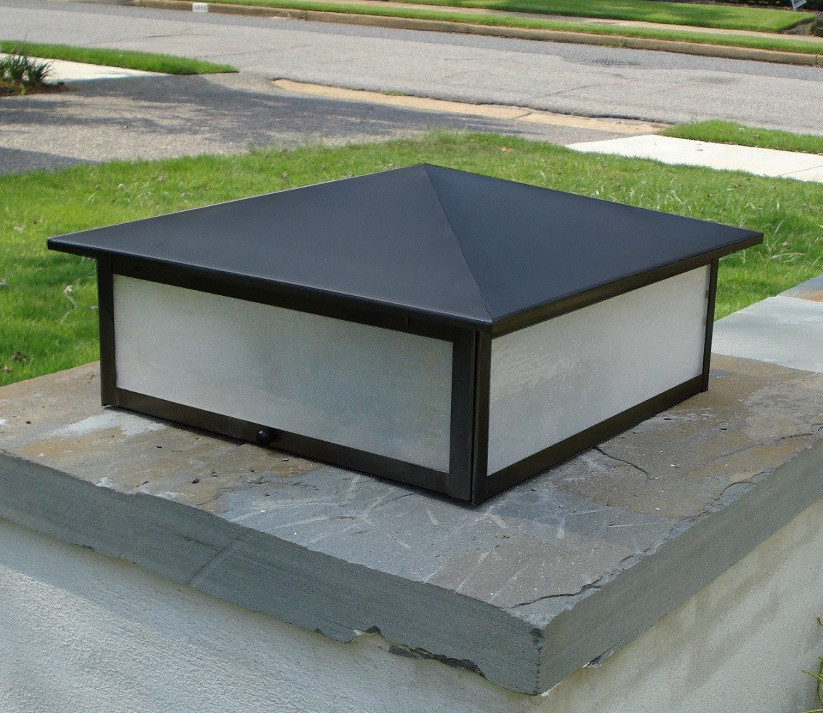 Picture of: Outdoor Column Lights Model
