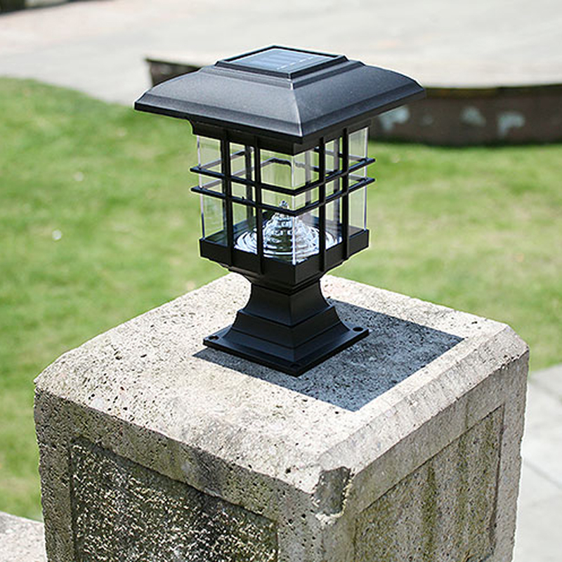 Picture of: Outdoor Column Lights Solar
