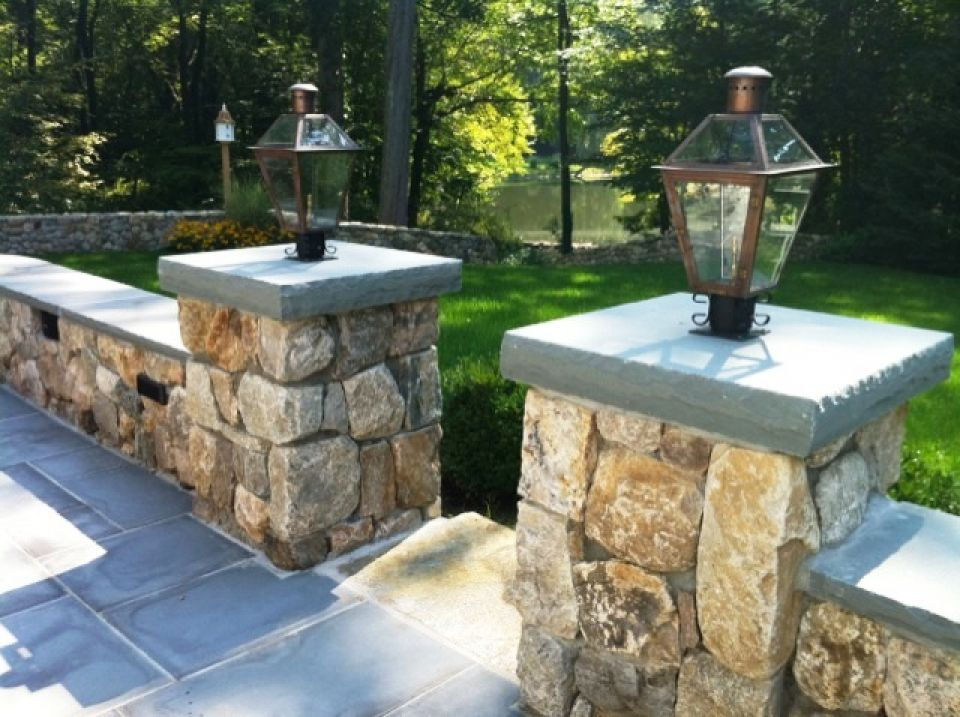 Picture of: Outdoor Column Lights Style