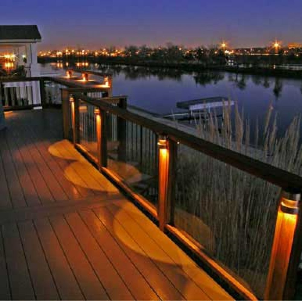 Picture of: Outdoor Deck Lighting for Privacy