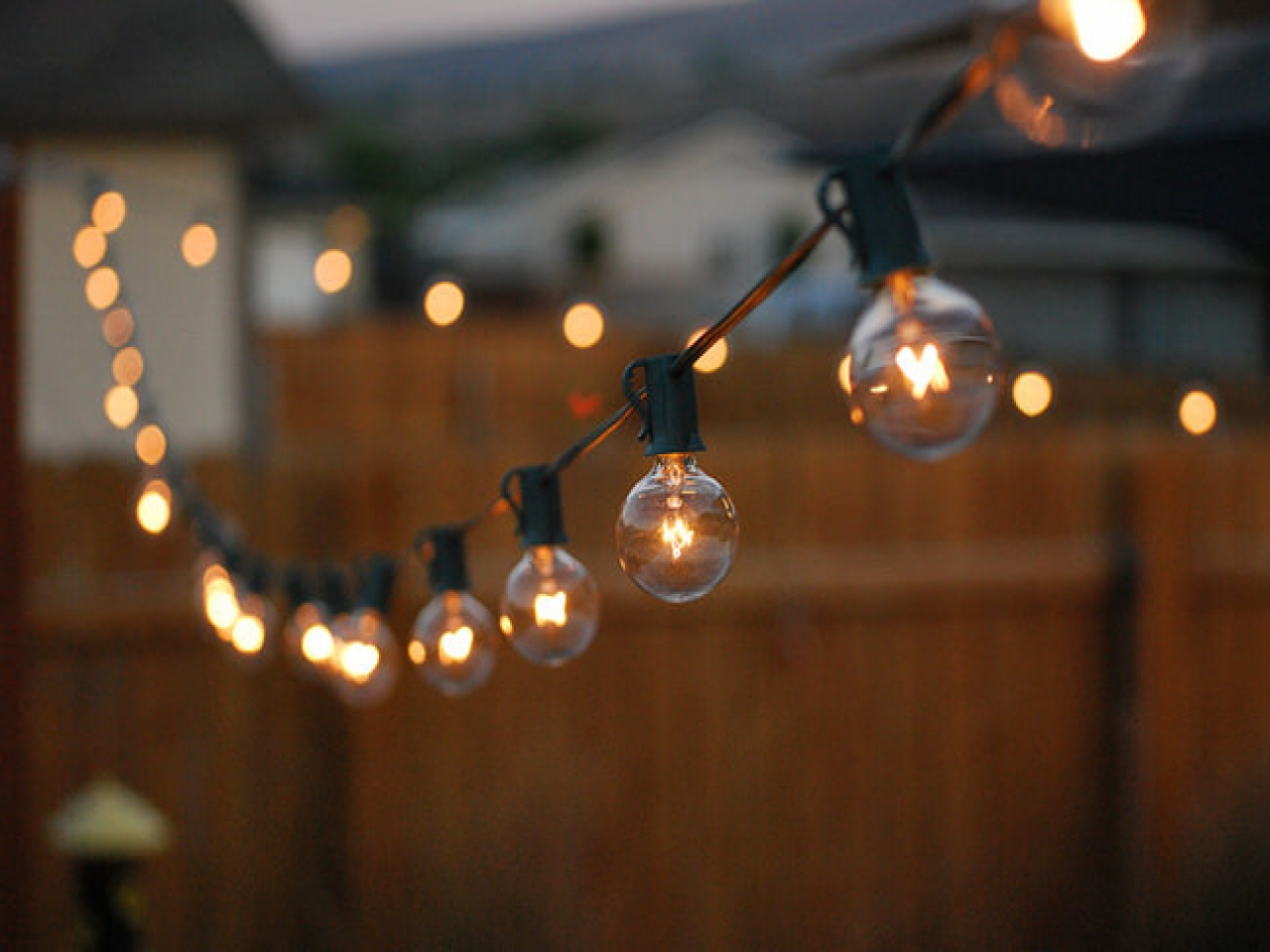 Picture of: Outdoor Fairy Lights Commercial