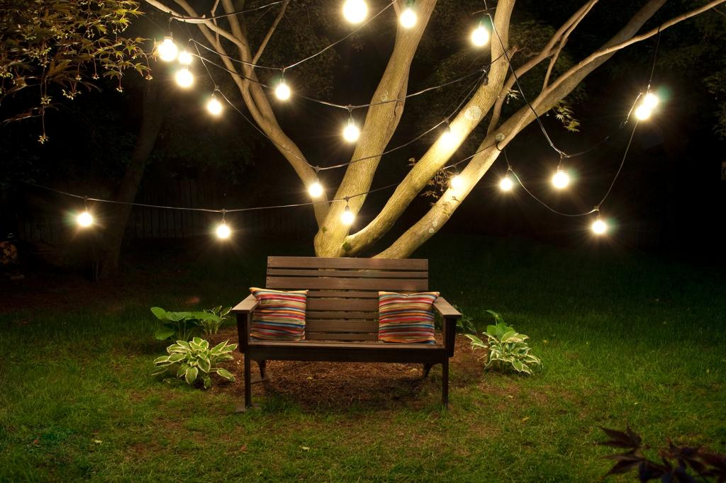 Image of: Outdoor Fairy Lights Extra Long