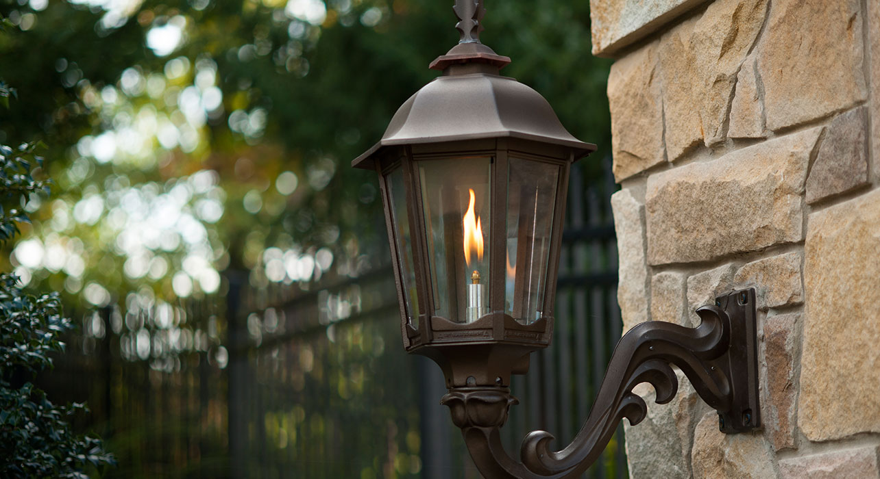 Picture of: Outdoor Gas Lights Lamps