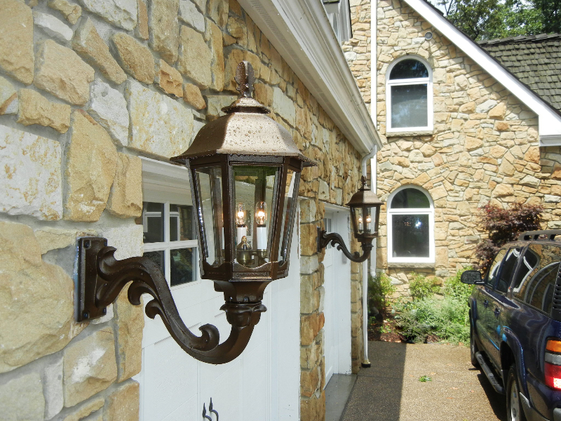 Picture of: Outdoor Gas Lights Photo