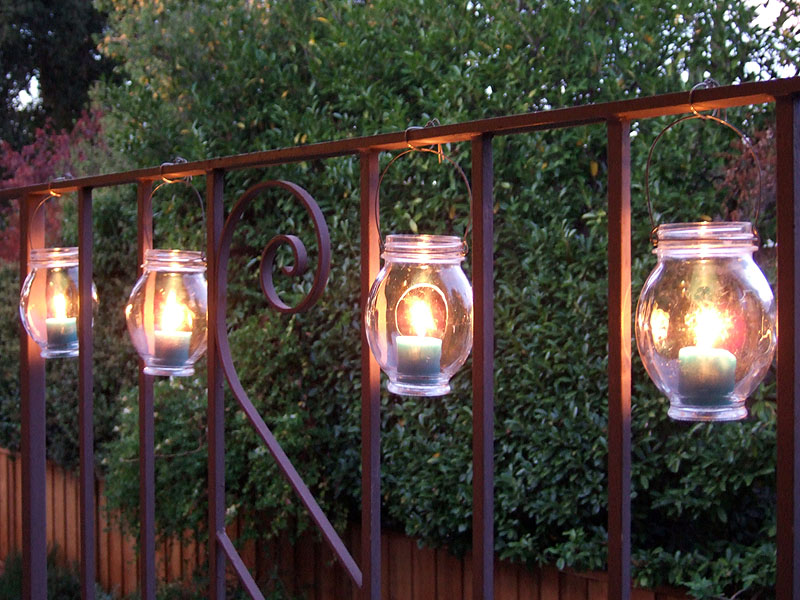 Picture of: Outdoor Lamp Post with Outlet
