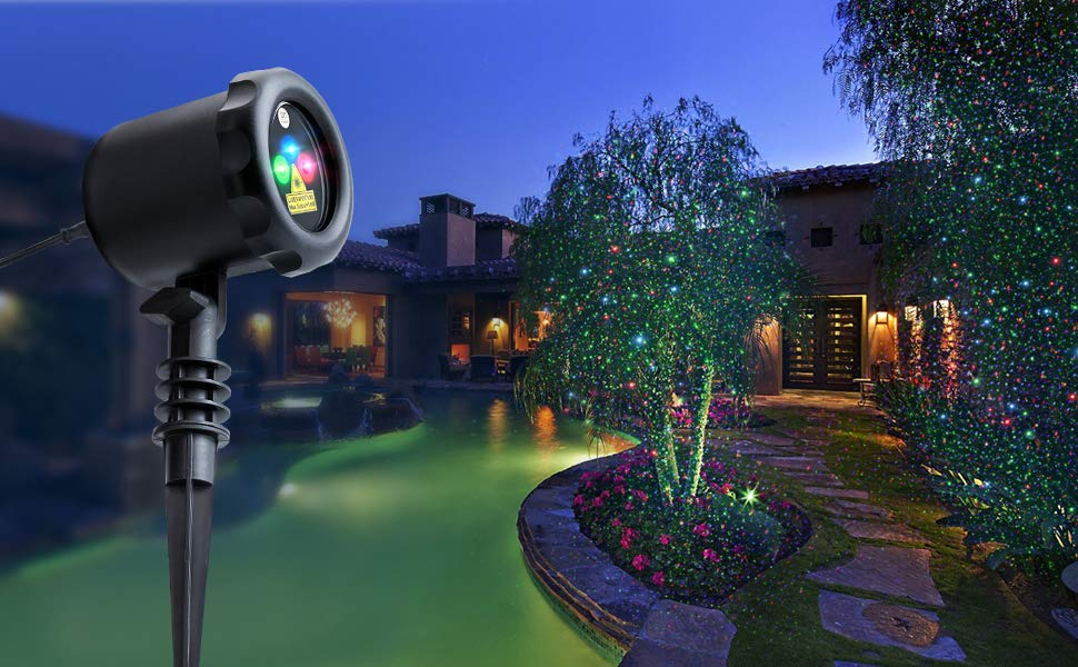 Picture of: Outdoor Laser Light Projector Stand