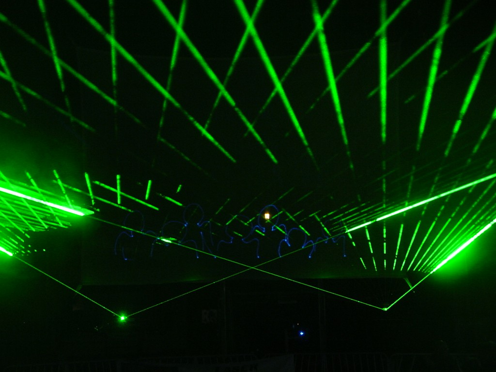 Picture of: Outdoor Laser Lights Greend