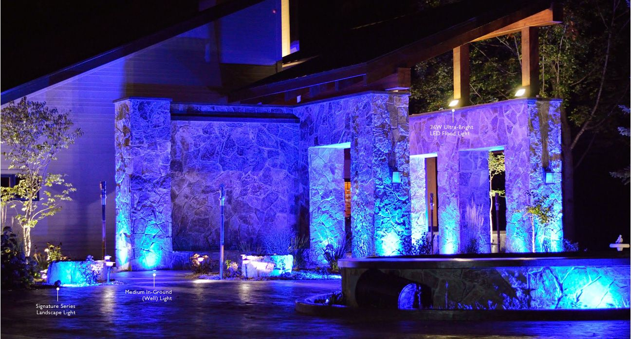 Picture of: Outdoor Led Light Ideas