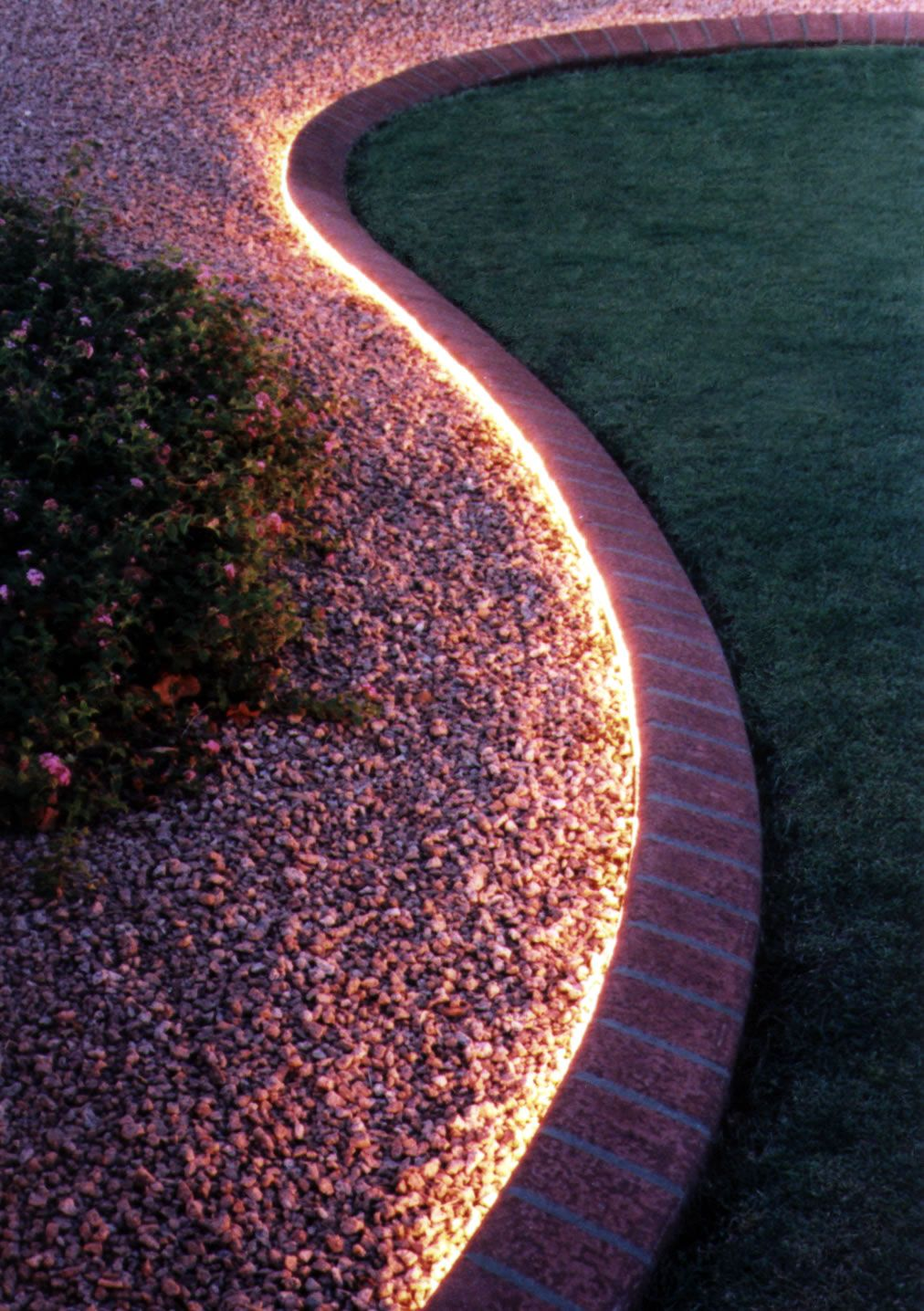 Picture of: Outdoor Led Rope Light Garden