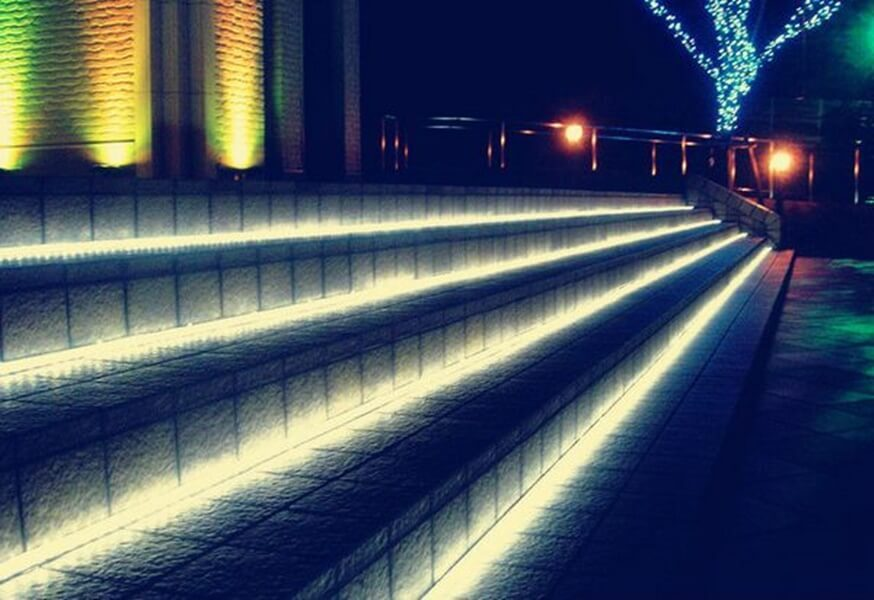Picture of: Outdoor Led Rope Light Stair