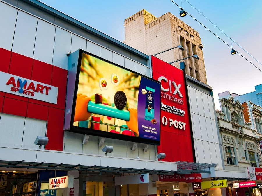 Picture of: Outdoor Led Sign Lighting Billboard
