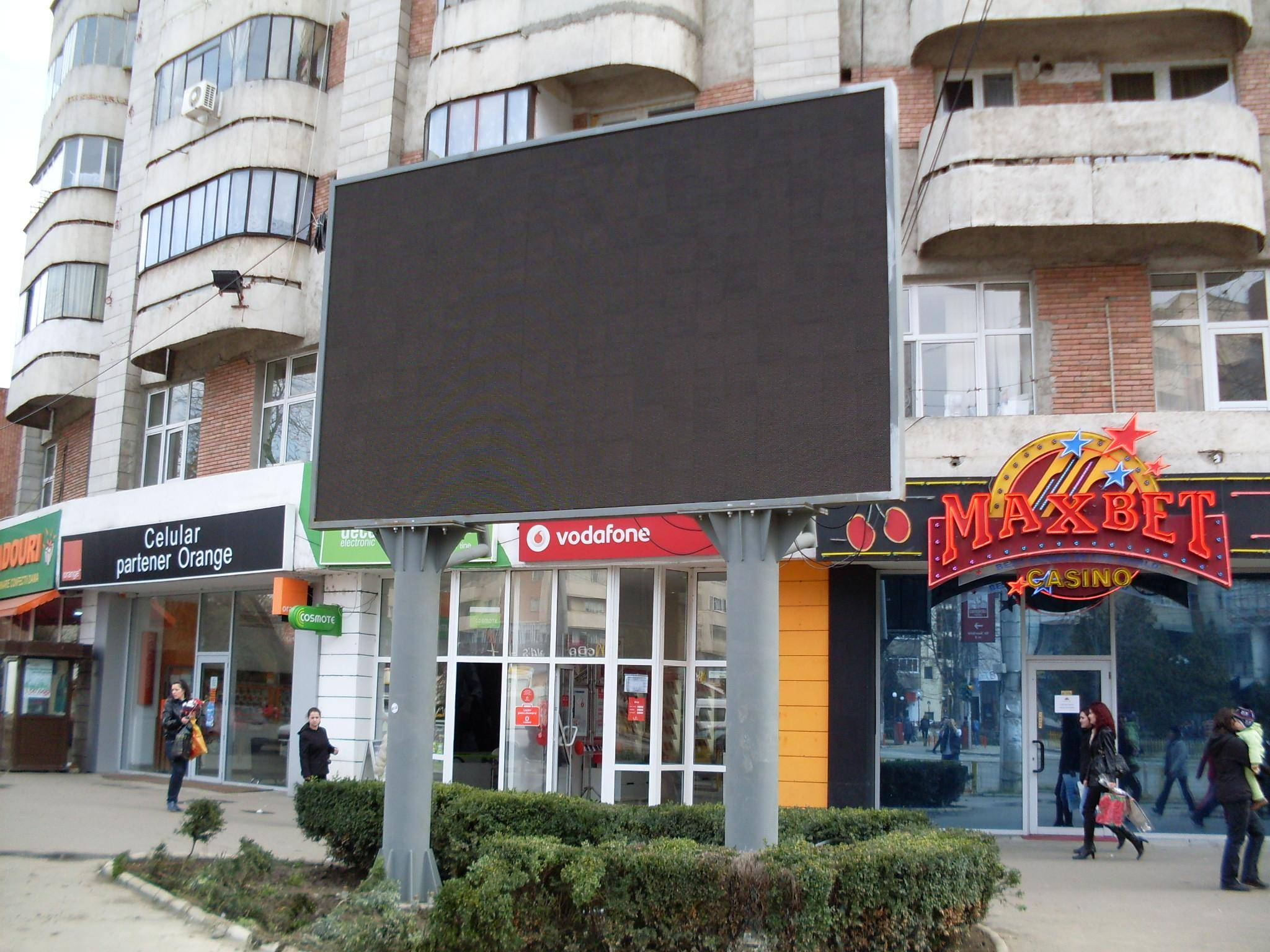 Picture of: Outdoor Led Sign Lighting TV Screen