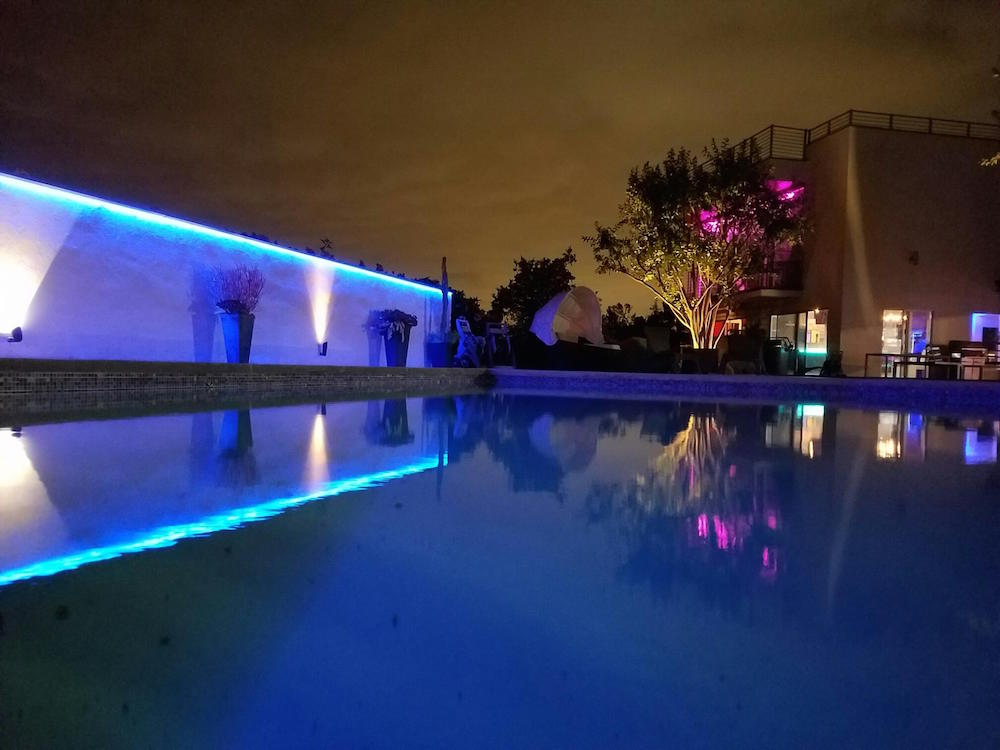 Picture of: Outdoor Led Strip Lighting Pool