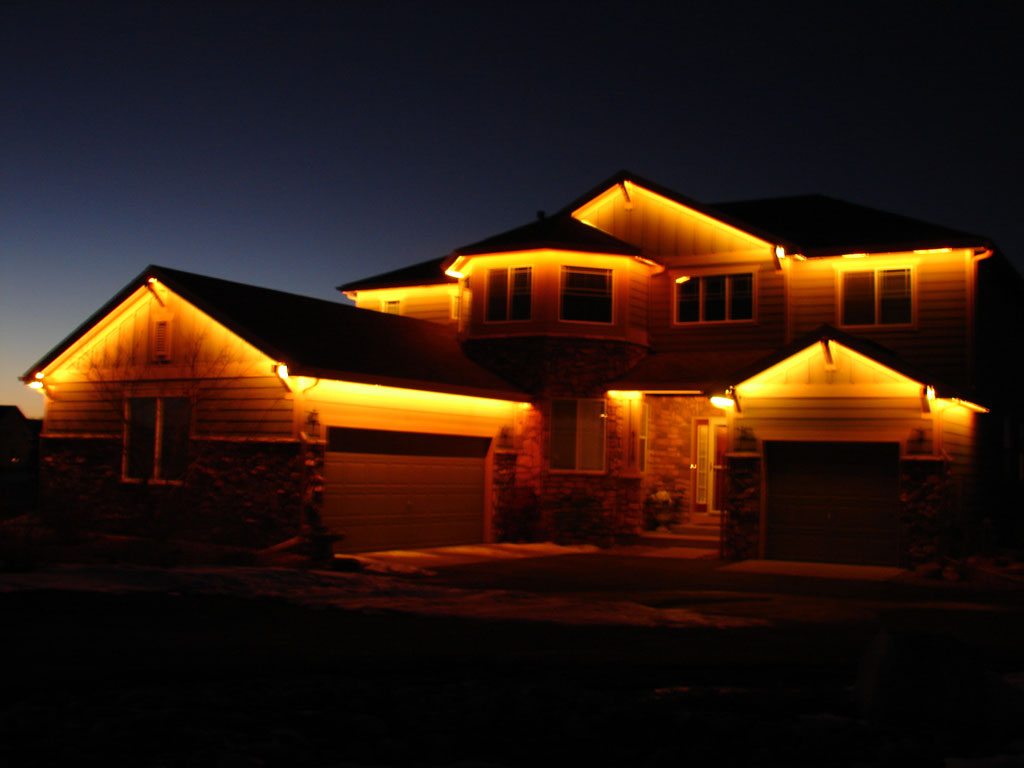 Picture of: Outdoor Led Strip Lighting Yellow
