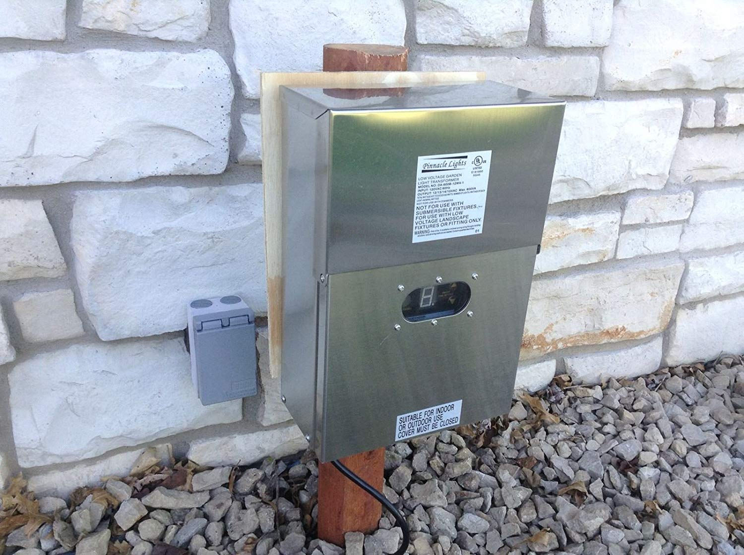 Picture of: Outdoor Lighting Transformer Wifi